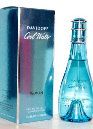 Davidoff cool water woman оригинал_eau de toilette 7 мл затест
