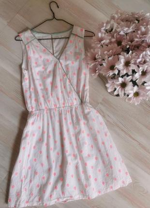 Хлопкова ніжна сукня
