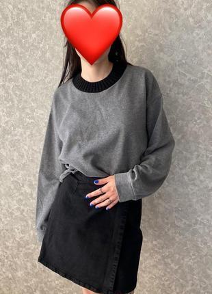 Укороченный свитер зара