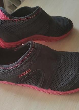 Аквашузи взуття для плавання tribord / фирменные аквашузы коралки / обувь для плавания