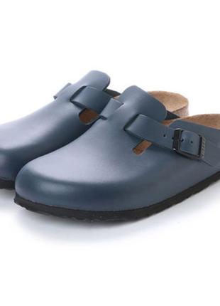 Сланцы birkenstock boston  clogs leather
