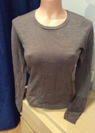 Джемпер , тонкий свитер из шерсти merino