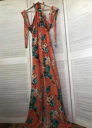 💕невероятное платье  (указан 12,маломерит,лучше  на меньше м/s см.замеры)