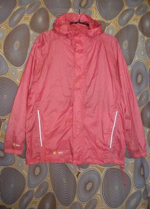 Ветрозащитная легкая куртка ветровка дождевик hi-gear для девочки на 11-12 лет