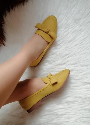 Женские мокасины балетки слипоны туфли