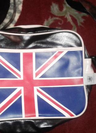 """Сумка через плечо """"британский флаг"""""""