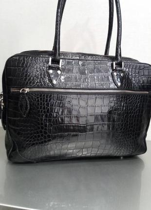 Шикарная кожаная сумка, 100% натуральная кожа