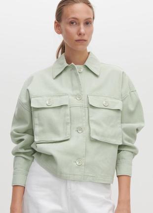 Коттоновый пиджак, куртка