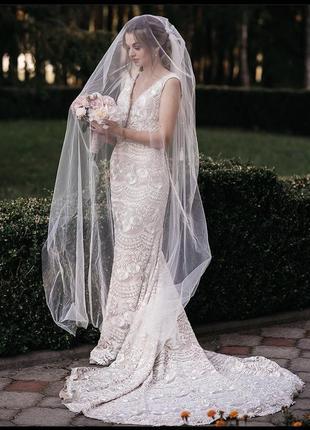 Весільне плаття pollardi, свадебное платье