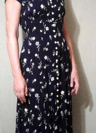 Штапельное платье dorothi perkins на пуговицах