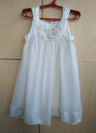 Нарядное платье baker на 4-5 лет