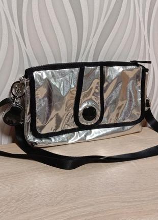 Kipling сумочка серебро новинка!!!