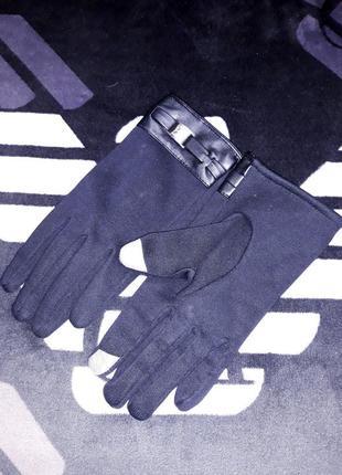 Варежки рукавички перчатки сенсорные пальчики