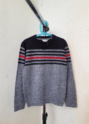 Свитер пуловер джемпер для мальчика на 8-10 лет