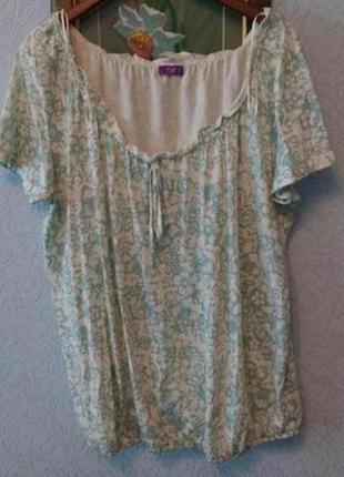 Мягкая приятная блуза,f&f