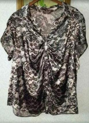 Легкая приятная блузочка английского бренда evans