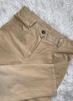 Вельветовые штаны брюки