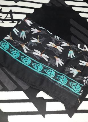 Оригинальный, модный и стильный парео платок шарф череп филипп плейн philipp plein