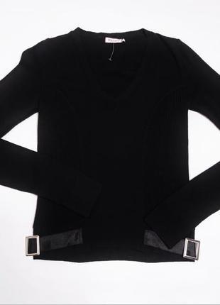 Шерстяной пуловер лонгслив  max&co max mara италия /3135/