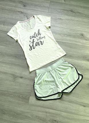 🔥 скидки 🔥 пижама, футболка + шорты esmara костюм для дома и сна