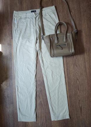 ❤️котоновые зауженые брюки armani jeans оригинал