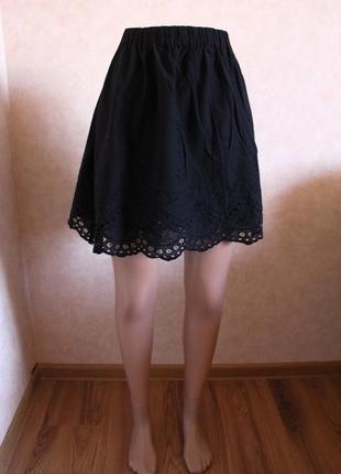 Хлопковая юбка h&m l