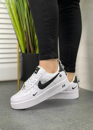 Женские кроссовки nike air force x off white