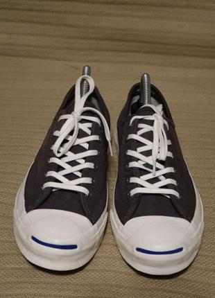 Кожаные низкие кеды converse jack purcell 38,5 (24,5 см)