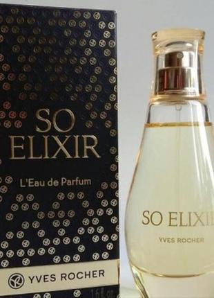 Соу эликсир компании ив роше/ so elixir yves rocher 50 мл .