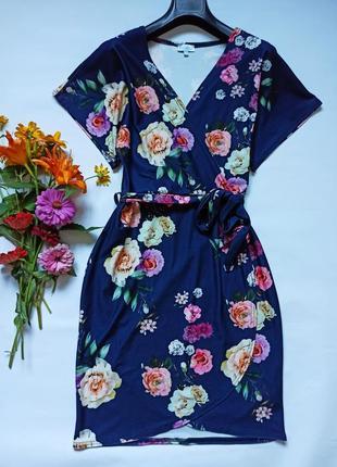 Платье на запах с запахом