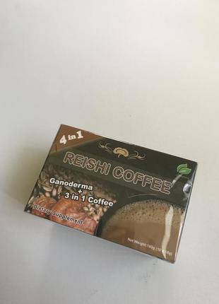 Кофе с грибами reishi