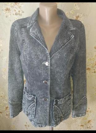 Джинсовка куртка пиджак варенка