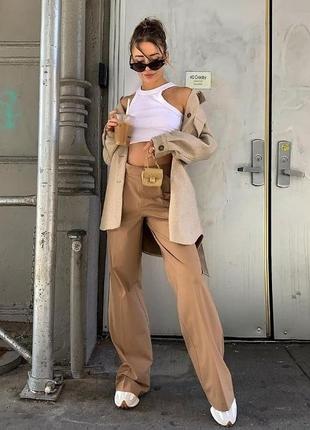 Широкие брюки, брюки палаццо zara