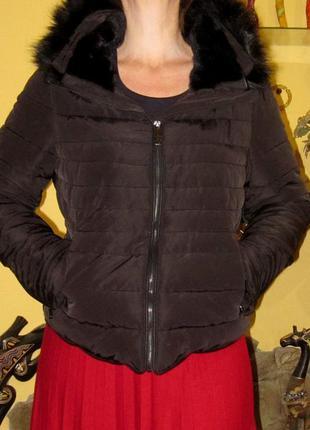 Куртка zara,раз xl,на синтепоне