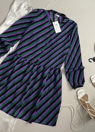 Новое красивейшее платье рубашка villa