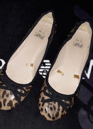 Туфли туфельки балетки чешки фирма f&f1 фото