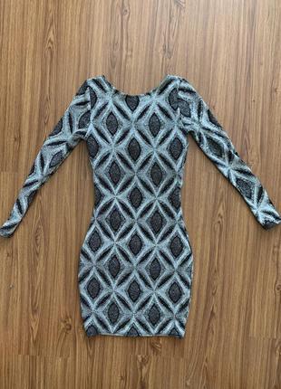 Стильное платье с блестками river island