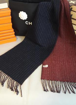 Yves gerard! оригинал! шикарный двухсторонний шарф!