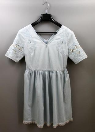 Джинсове стильне молодіжне плаття бренду by very