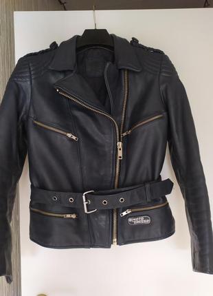 Куртка косуха кожаная motodress 42--46