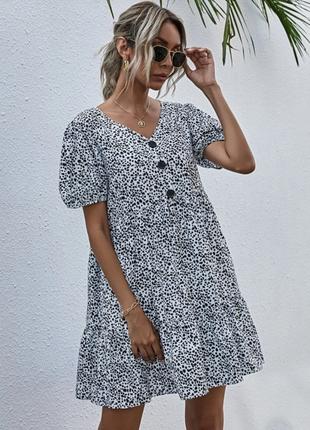 Легкое летнее платье shein, размер м