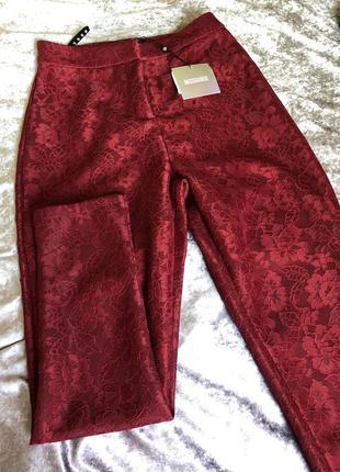 Кружевные / ажурные брюки
