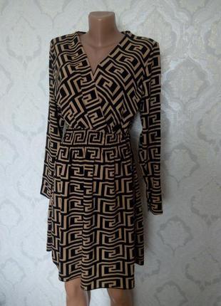 Фирменное платье фенди
