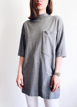 Стильное платье/удлиненная oversize футболка topshop