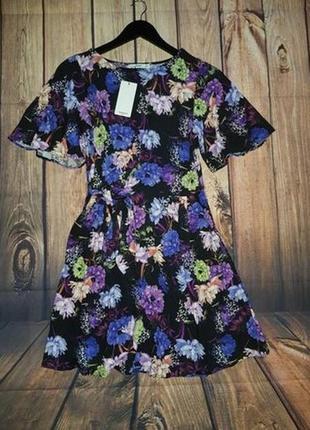 Платье в цветы,сарафан