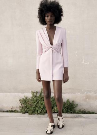 Платье пиджак блейзер от zara