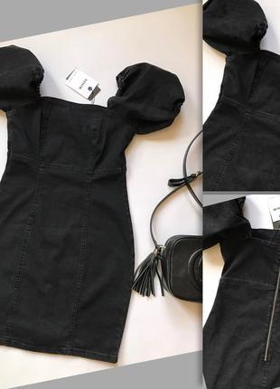 Красивезне джинсове плаття р.s-m