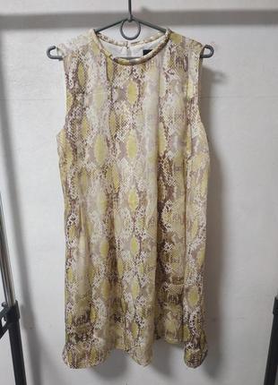 Платье на подкладке размер uk 10 наш 44-46