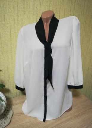 Классная шифоновая блуза