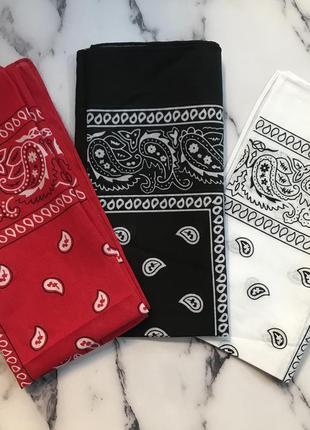 Бандана повязка платок пейсли